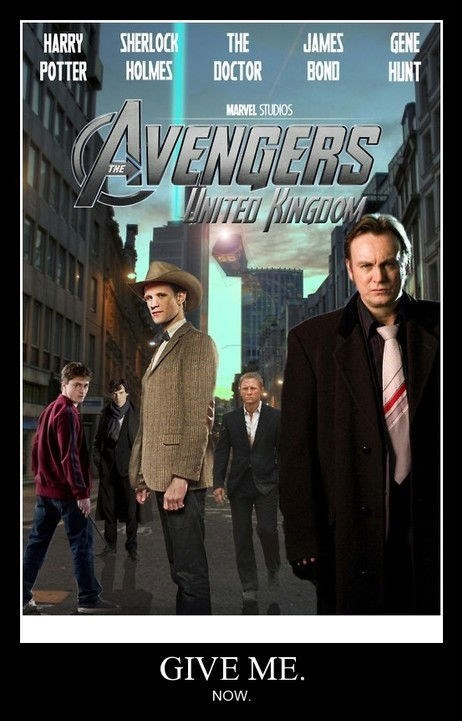 The Avengers UK Would Be Amazing