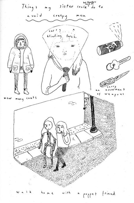 creeps,feminism,knives,sad but true,web comics