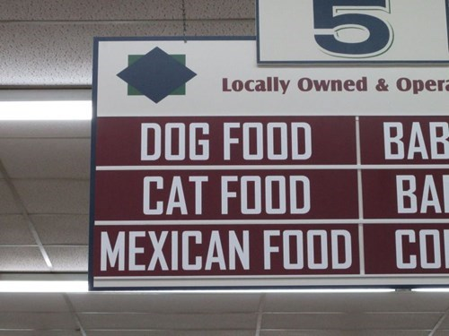 accidental racism,pets,sign,g rated,fail nation
