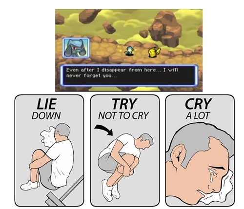 try not to cry,feels,pokemon mystery dungeon