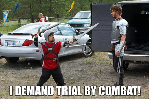 Tyrion Demands Trial By Combat