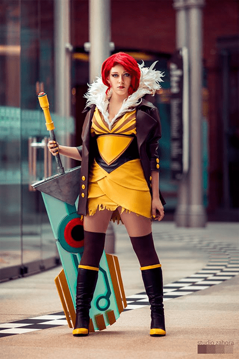 New Game Cosplay of the Day: Red from Transistor
