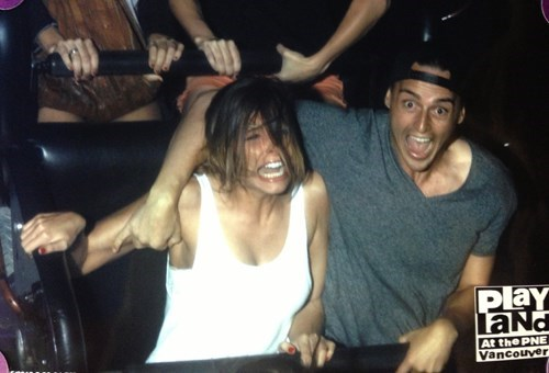 Never Go on a Roller Coaster on the First Date