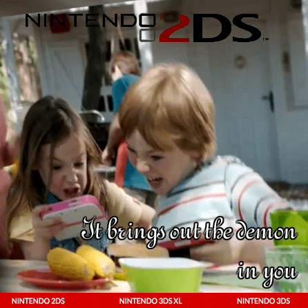 Make your children demons with 2DS