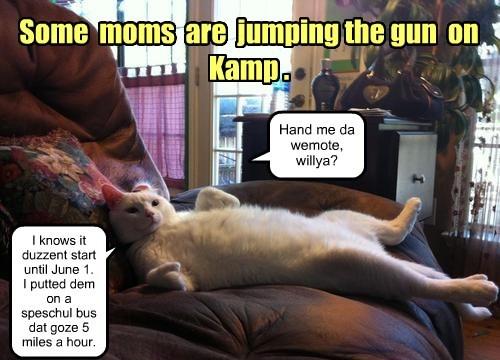KKPS: Some moms jumping the gun on Kamp.