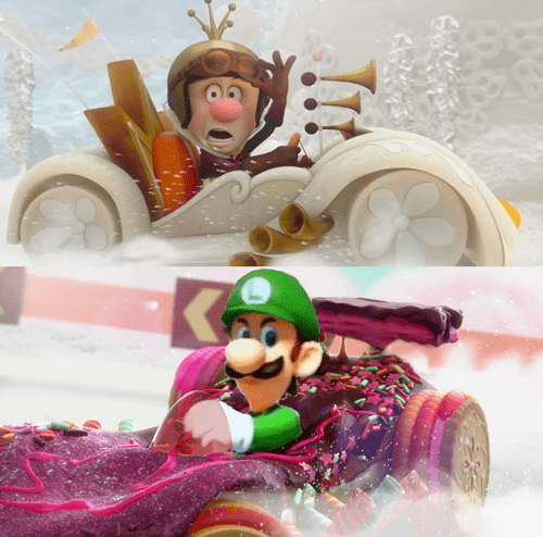 Luigi's Going Turbo!