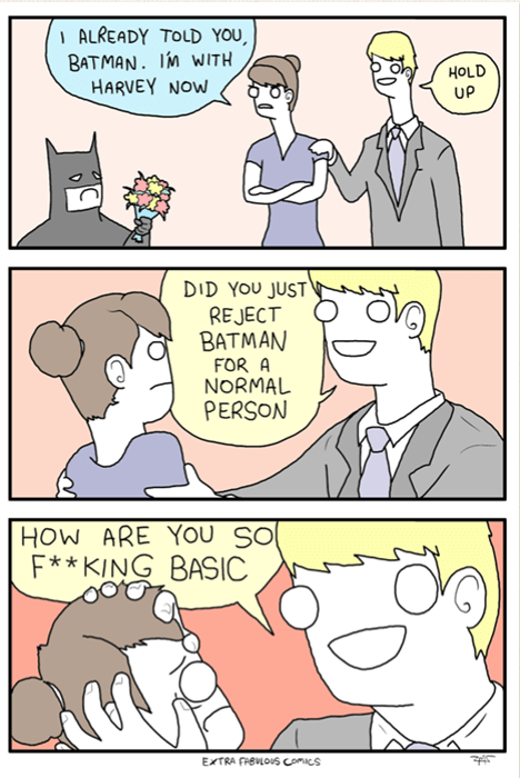 Batman's Dating Problems