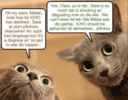 ICHC on the decline..