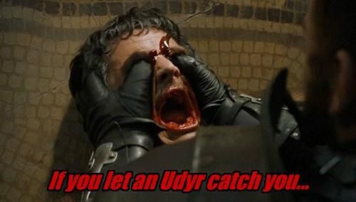 If you let an Udyr catch you...