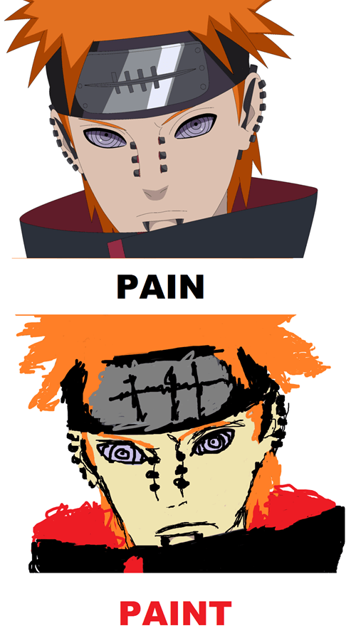 naruto,fan art,pain