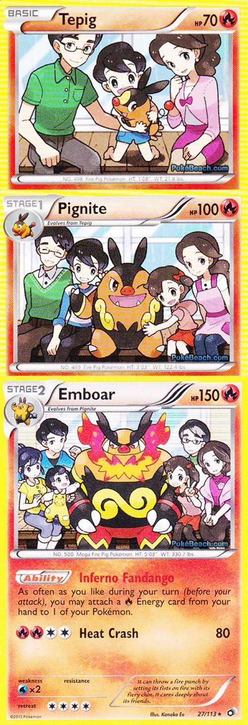 Pokémon,tepig,trading card games,pokemon cards