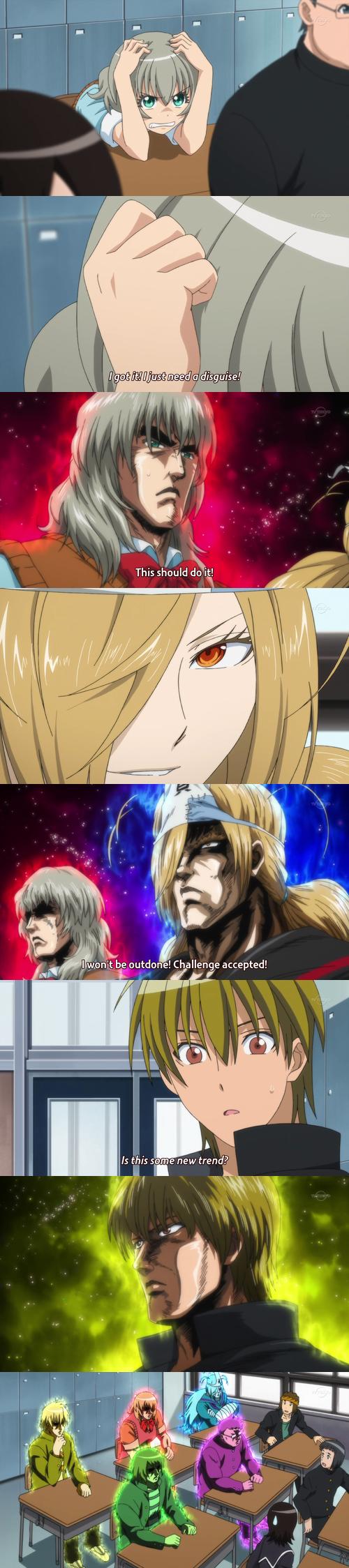 *Makes Hokuto no Ken Face*