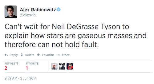 twitter,celeb,science,Neil deGrasse Tyson,g rated,School of FAIL