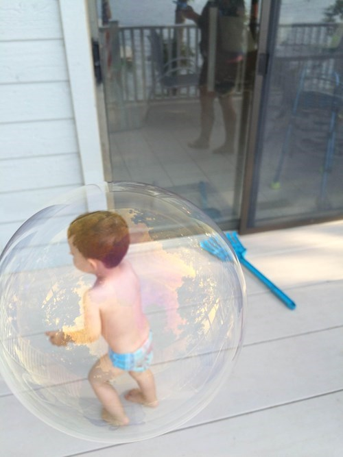 bubble boy,photos,bubbles,perfectly timed