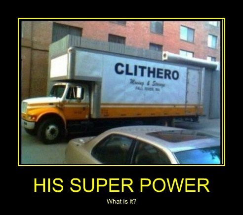 HIS SUPER POWER