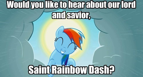 religion,rainbow dash