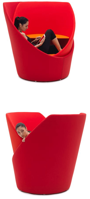 Shut Out the World in This Privacy Chair