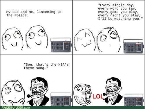 Music,NSA,trolldad