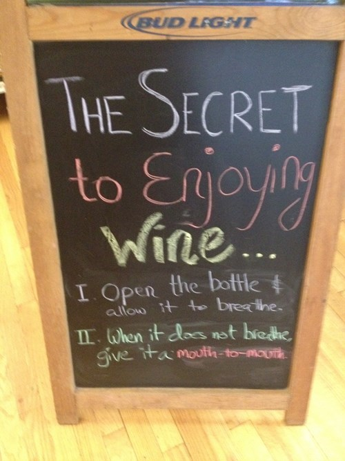 funny,mouth to mouth,sign,wine,wtf,after 12,g rated