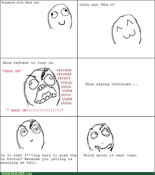 rage,roommate,xbox