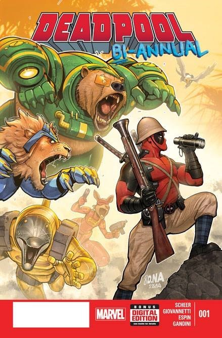 It's The 90's All Over Again When Brute Force Returns in Deadpool Bi-Annual #1