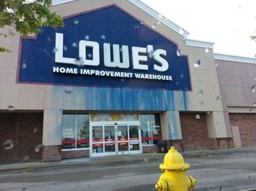 lowes,painting