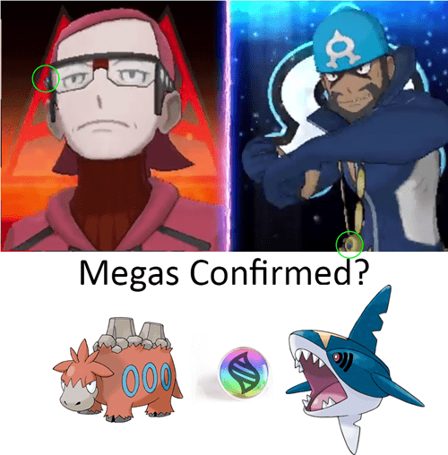 Maxie and Archie Have Mega Stones