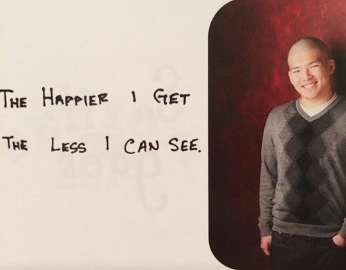 asian,yearbook,racist,quote,funny