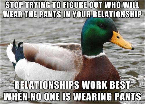 Actual Advice Mallard,relationships