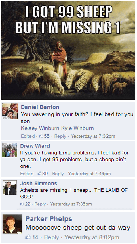 Ahh, Bible Memes...