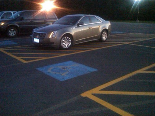 At Least it's Not a Handicapped Space?