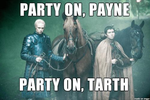 Game of Thrones,season 4,waynes world,brienne of tarth,podrick