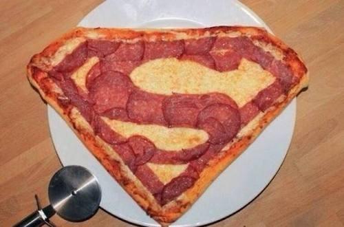superman,pizza