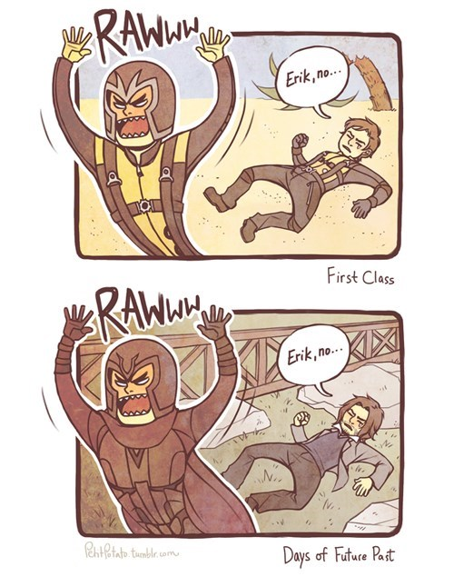 Mutant War Never Changes