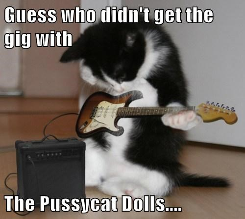 Guess who didn't get the gig with  The Pussycat Dolls....