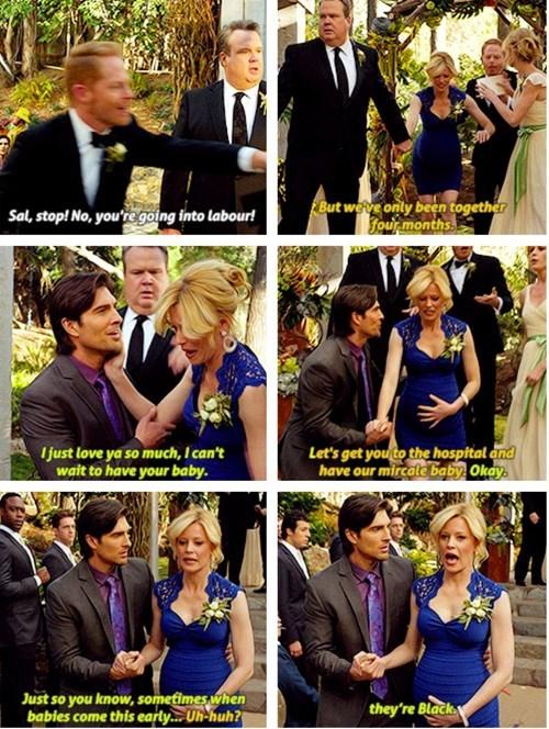 funny,stupid,TV,pregnant,Modern Family