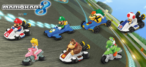 Mario Kart 8 Toys Coming to McDonalds