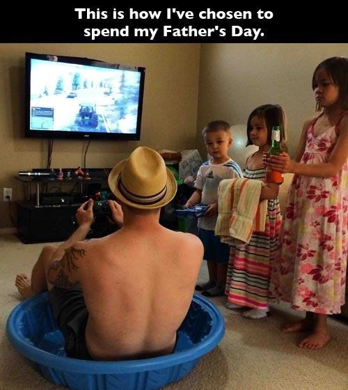Hopefully Your Dad Enjoyed Father's Day as Much as This Dad Did