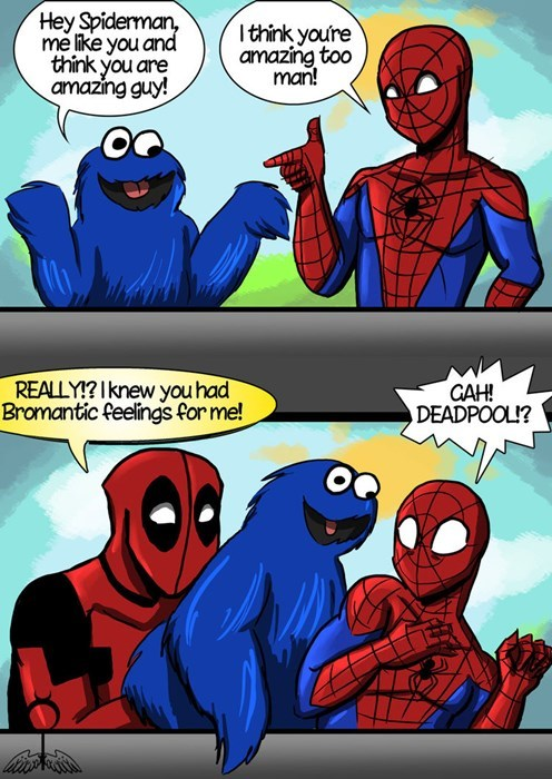 Deadpool and Spiderman Are BFF