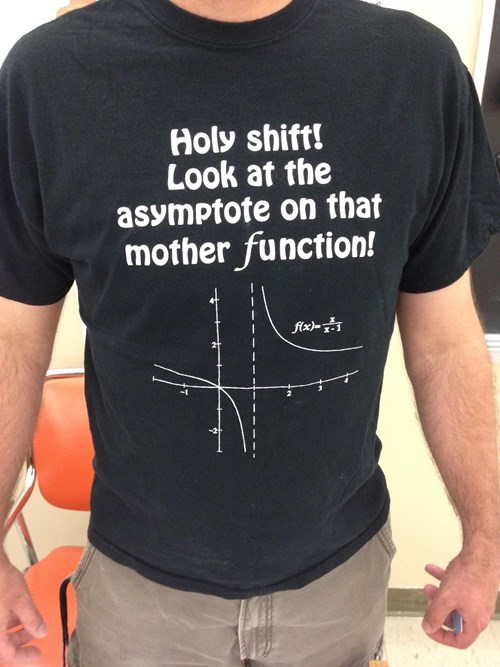 Math Teachers Have the Best T-Shirts