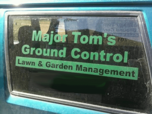 Finally, a Lawn Care Company Name That's Not a Law and Order Pun
