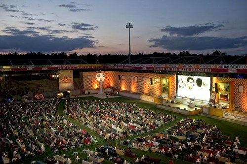 Berlin Turned its Stadium into a Massive Living Room for This Year's World Cup