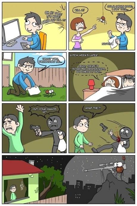 bros,spiders,robbery,web comics