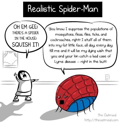 Realistic Spiderman