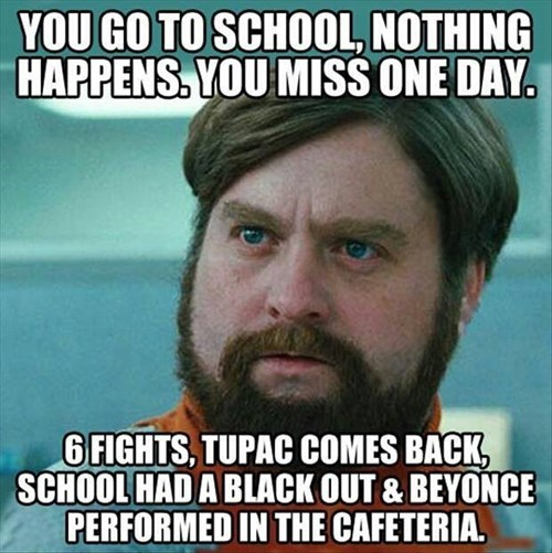 Never Miss a School Day