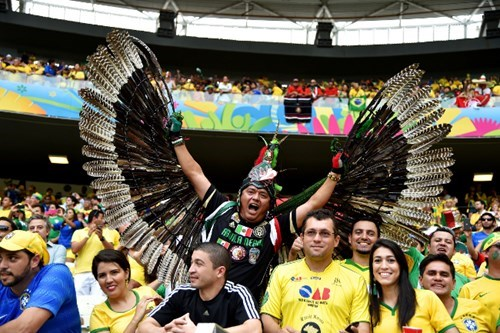 We've Found the Coolest Fan at the World Cup