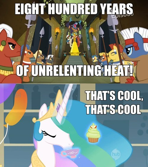 Celestia doesn't give a BUCK