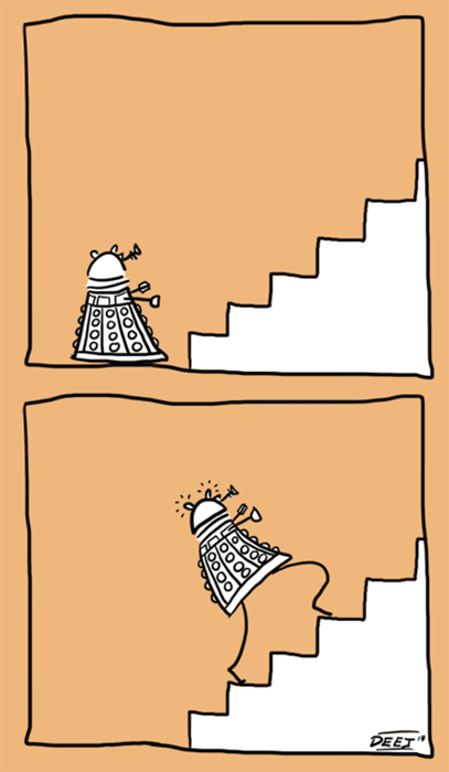 Who Sasy The Daleks Aren't Elegantle Designed