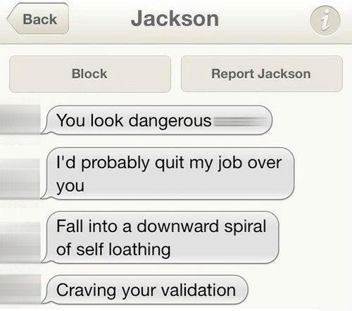 depressing,funny,online dating,wtf,message