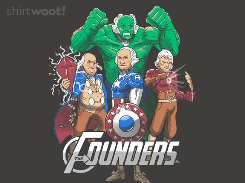 america,founding fathers,The Avengers,tshirts